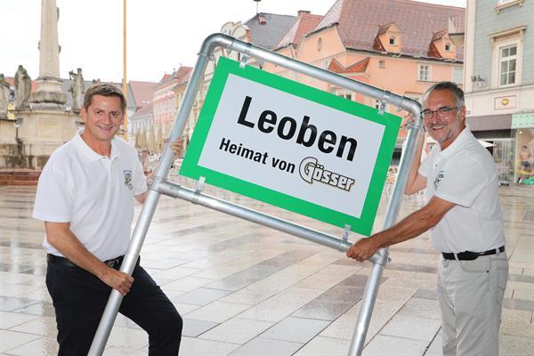 Die Stadt Leoben und Die Grüne Brauerei Göss setzen auf anhaltende Partnerschaft