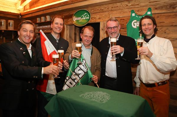 Österreichisch-norwegischer Gösser-Abend in Kitzbühel