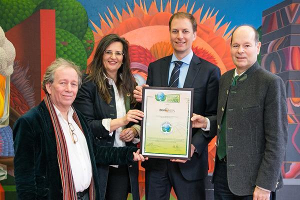 Brau Union Österreich erneut mit dem GREEN BRANDS Austria Siegel ausgezeichnet
