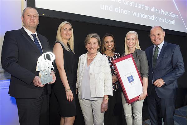 Staatspreis für die Personalentwicklung der Brau Union Österreich