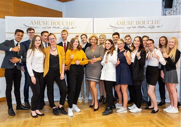 Großes Finale bei Amuse Bouche: neun Top-Lehrlings-Teams kämpfen um den Sieg!