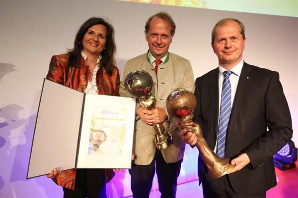 Umweltpreis Energy Globe 2016: Brau Union Österreich ist Gesamtsieger Österreich